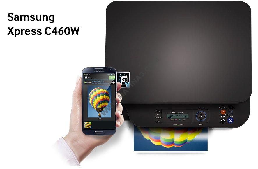 Máy in laser màu A4 Samsung C460W